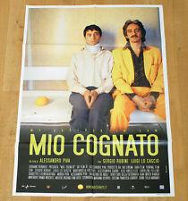 MIO COGNATO poster manifesto Luigi Lo Cascio Sergio Rubini Alessandro Piva Bari