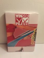 Winsor Pilates Power Sculpting with Resistance Mari Winsor (DVD, 2003) New