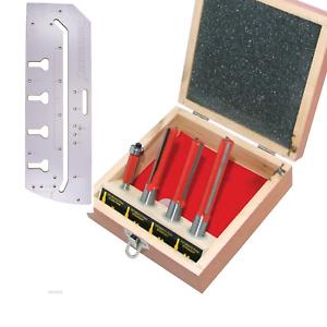 900mm Kitchen Worktop Router Jig + Cutters Bit Set + Guide Pins BN