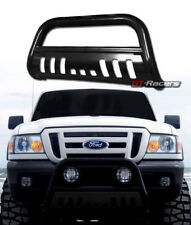 FOR 1998-2011 FORD RANGER BLACK HD BULL BAR BRUSH PUSH BUMPER GRILL GRILLE GUARD