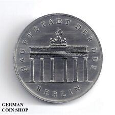 DDR - 5 Mark 1989 Brandenburger Tor Berlin