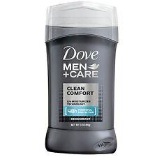 2 Pack Dove Men Care Clean Comfort Stick Deodorant 48Hr Protection 3Oz Each