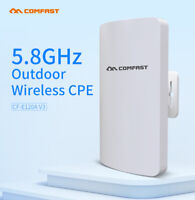 5.8GHz 300Mbps Outdoor Bridge CPE AP Repeater Router WiFi Access Point Wireless