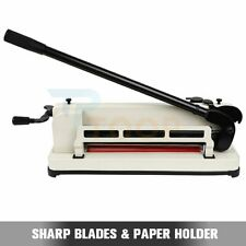 17 Inch Heavy Duty Paper Cutter Metal Base Paper Scrap Guillotine Commercial