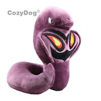 23cm Arbok Snake Plush Toy Soft Stuffed Animal Doll 9'' Teddy Kids Birthday Gift