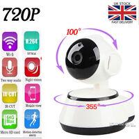 Wireless Pan Tilt HD 720-P Security Network CCTV IP Camera Night Vision WIFI IR