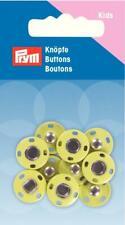 5 Druckknöpfe 14 mm Gelb von Prym 341 904