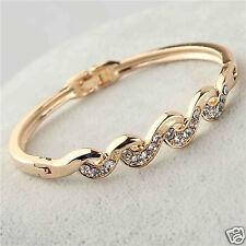 Stile Beautiful 18K Gold Filled Wrist Bracelet Bangle Women