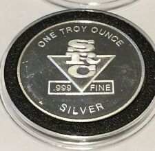 SRC Silver Gold Mine McCall Idaho 1 Troy Oz .999 Fine Silver Round Vintage Coin