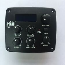 B-Band  4-band EQ T55 Acoustic Guitar Preamp Brand new  Manufacturer's Warranty