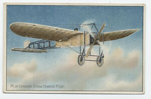 c1910 Tuck Lesseps  monoplane airplane aviation postcard unused [y6223]