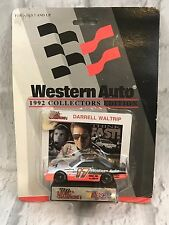 Vintage Western Auto Collector's Edition NASCAR Darrell Waltrip Scale Car NOS