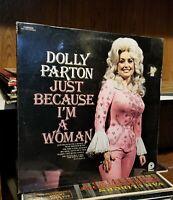 DOLLY PARTON Just Because I'm A Woman LP 1976 still Sealed!! New vinyl