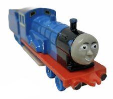 Vintage 80s ERTL Thomas Tank Engine Train Push Along Toy Edward the Blue Engine