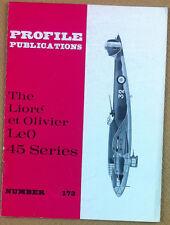 Aeronautica - Profile Publications - N° 173 - The Lioré et Olivier LeO 45 Series