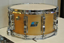 1980s LUDWIG 6.5X14 THERMOGLOSS ROCK CONCERT SNARE DRUM for YOUR DRUM SET! #F275