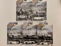 2020 Hot Wheels Forza Motorsport FULL SET OF 5 cars Diecast Metal Cars 1:64