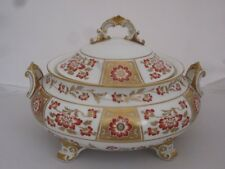 """Royal Crown Derby """"Red Derby Panel"""" Lidded Tureen    A1236"""