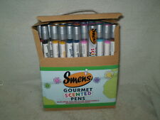 Smens Gourmet Scented Pens 100% Recycled Material NEW Lot of 50 assorted