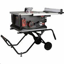 """SawStop JSS-MCA 120V 1.5 HP 15 Amp 10"""" Jobsite Portable Table Saw with Stand"""