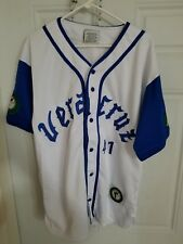 Veracruz Azules #41 Mexico Baseball Jersey Vintage Latin League Size M New