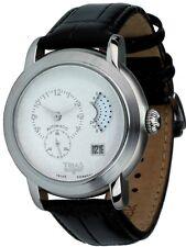 Trias Uhren Automatik-uhr mit Zwei Zeitanzeigen Ø 41mm Herrenuhr