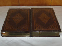 Easton Press TRUMAN I & II David McCullough 2V LEATHER Library Presidents SEALED