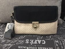 Jason Wu For Target Ivory Canvas Clutch Bag NWT