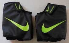 NIKE Unisex STR8JACKET Football Cleat Spat System Lockdown Black/Neon Size L