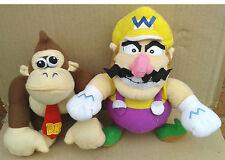 Wario & Donkey Kong from Super Mario-Soft Plush Toys.