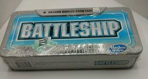 """Hasbro Gaming Road Trip Series """"BATTLESHIP"""" Portable Case Full Gameplay NOS"""