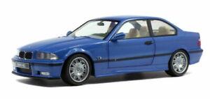 BMW M3 EVO E36 Estoril Blue 1995 1:18 (Solido 1803901)