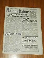 MELODY MAKER 1946 #692 OCT 26 JAZZ SWING SKYROCKETS LOU PREAGER HARRY ROY