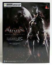 "In STOCK ""Batgirl"" Batman Arkham Knight DC Comics Play Arts Kai Action Figure"