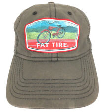 New Belgium Brewing Hat Fat Tire Beer Cap Baseball Bike Logo Trucker Adjustable