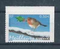 N°37 - Timbre Autoadhésif - Meilleurs Voeux Oiseau - 2003