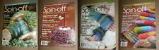 Lot of 4 Spin Off magazines from 2009/2010/2011 new old stock