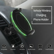 For iPhone 8 Plus / X / Note 8 S8+ Qi Wireless Fast Charger Car Charging Stand