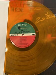 """S E Pearcy Signed! RATT """"Out Of The Cellar"""" Orange Vinyl 2013 NEW! Collectible!"""