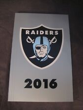 Oakland Raiders 2016 Official NFL Media Guide