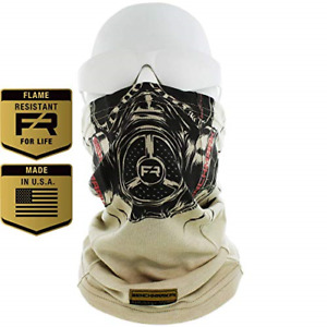 BENCHMARK FR Flame Resistant Face Mask Neck Gaiter, USA Made, 6.4 Cal, Soft FRC