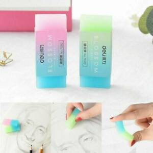 Colorful Jelly Rubber Eraser Pencil Erasers for Kids Teacher School Stationary