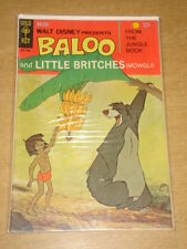 BALOO AND LITTLE BRITCHES #1 FN (6.0) GOLD KEY COMICS 1968 JUNGLE BOOK