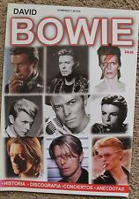 DAVID BOWIE MAGAZINE, SPANISH EDITION, HOMBRES Y MITOS, DE COLECCION, MEXICO