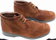 NWOB GEOX Respira Chukka Suede Rust Ankle Boot Shoe Mens 10.5 EU43.5 La Scarpa