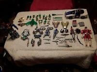 Power Rangers Rescue Lightspeed, Zeo and Lost Galaxy armor and weapons plus