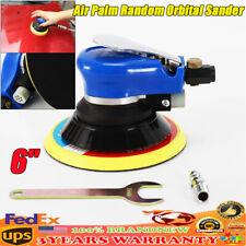 6INCH Air Palm Orbital Sander Random Hand Sanding Pneumatic Round 10000 RPM New