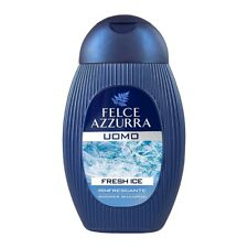 Felce Azzurra Men Shampoo and Shower Fresh Ice 250ml 8.45 fl oz