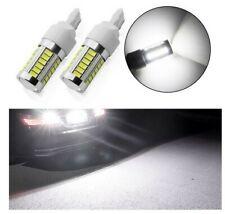 Ampoule T20 LED W21 W Blanc 6000K Veilleuse 7440 Feux stop 33 leds SMD 12V