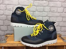 PALLADIUM MENS UK 9 EU 43 NAVY PALLASIDER HIKER MID BOOTS RRP £110